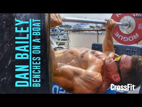 CrossFit®: Dan Bailey: Workout for March 21, 2016