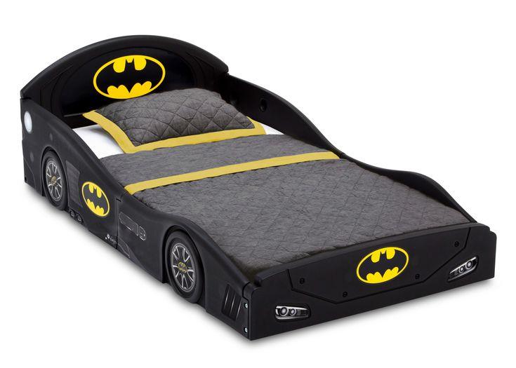 DC Comics Batman Batmobile Car Sleep and Play Toddler Bed ...