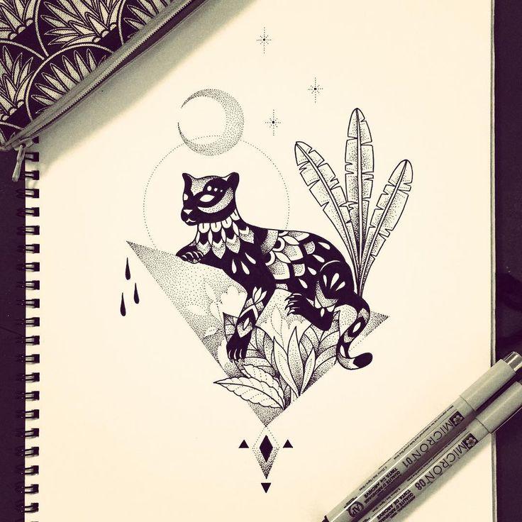 Nouvelle illustration // Jaguar // Mexico  #jaguar #mexico #illustration #draw #tattoo #violette #bleunoir #bleunoirtattoo #violettetattoo #geometrictattoo #dotwork #blackwork #blackworkerssubmission #blacktattoo #blacktattoomag #blacktattooart #btattooing #iblackwork #inkstinctsubmission #equilattera #darkartists
