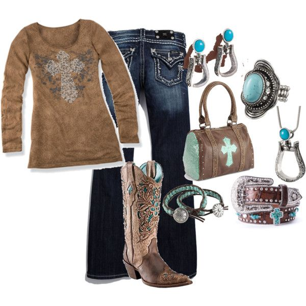 Love leather and turquoise!