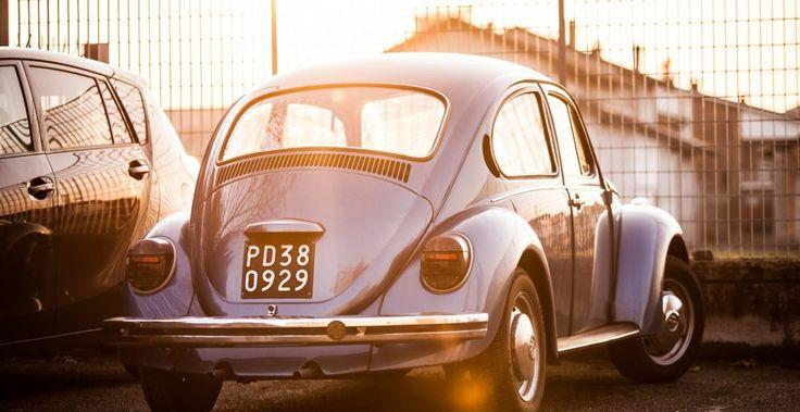 Blue Volkswagen
