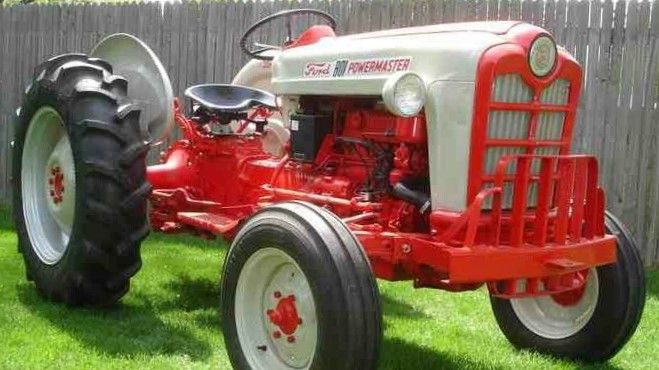 Ford Tractor Serial Number And Model Identification Ford Tractors Tractors Old Tractors