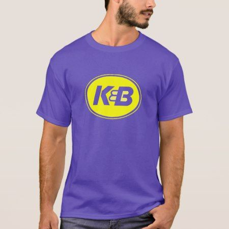 Purple and Gold K&B Tee - tap, personalize, buy right now!