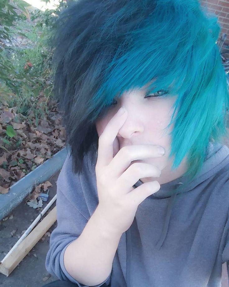 Emo boy hair long in easy — 6
