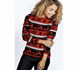 boohoo Ella Prancing Reindeers Xmas Jumper - red azz21233 Go back to nature with your knits this season and add animal motifs to your must-haves. When youre not wrapping up in woodland warmers, nod to chunky Nordic knits and polo neck jumpers in peppered mar http://www.comparestoreprices.co.uk/womens-clothes/boohoo-ella-prancing-reindeers-xmas-jumper--red-azz21233.asp