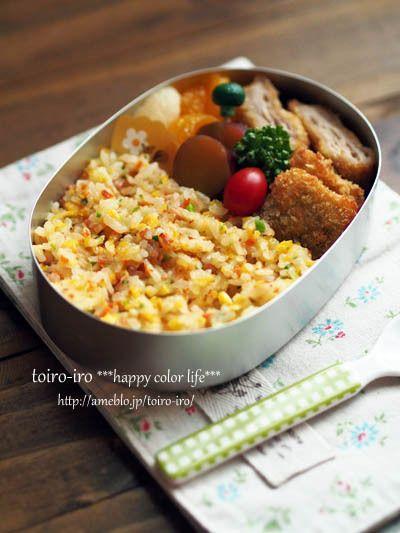 Fried Rice Bento Lunch 焼き飯弁当