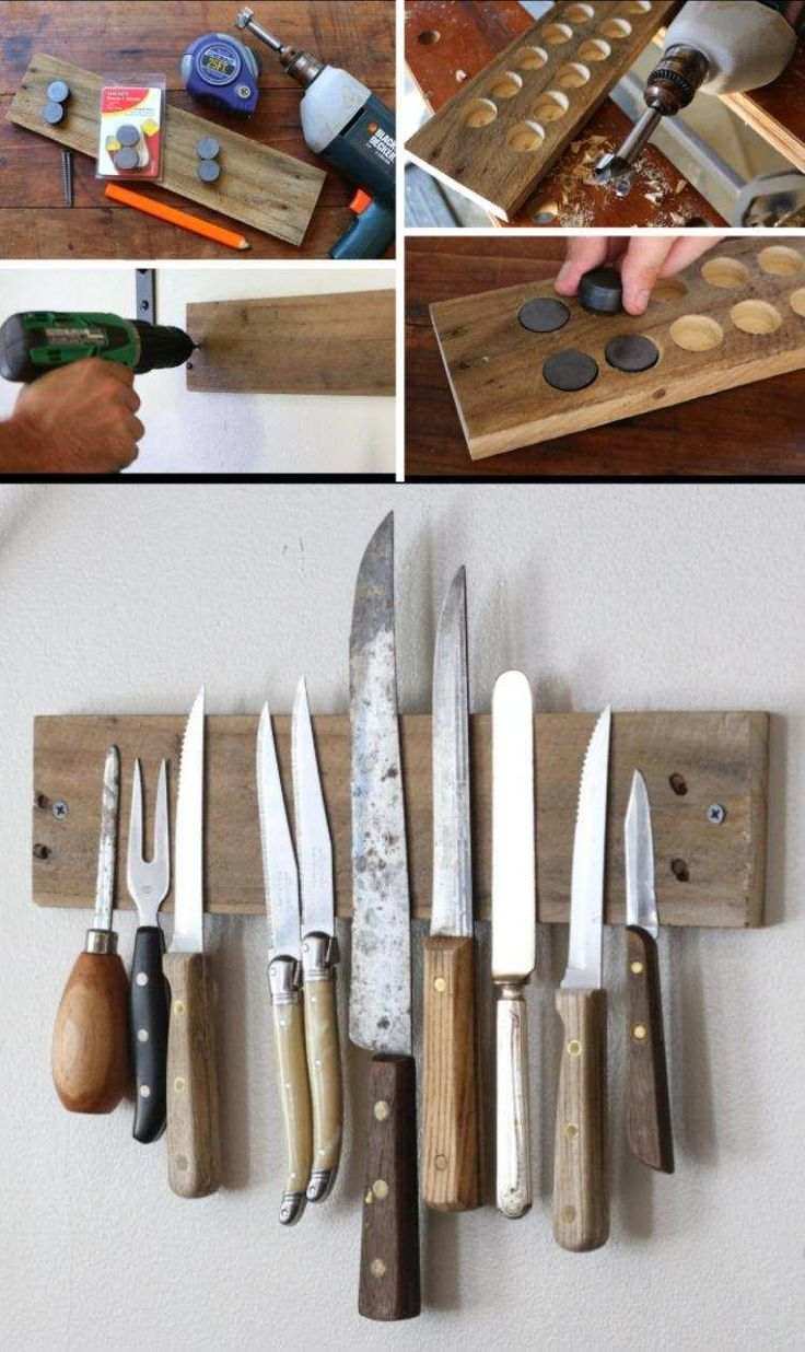 ;Messerbrett aus Holz selber machen - Anleitung