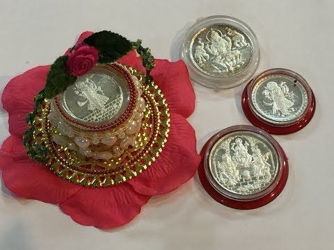 Silver coin gift packing ll 2 ll - YouTube | Wedding things