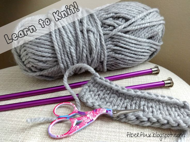 Let's Learn How to Knit!