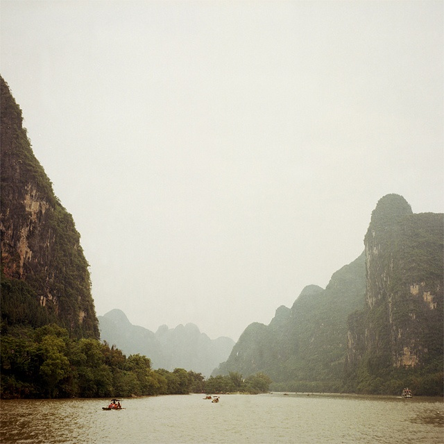 Guilin. Spectacular nature.