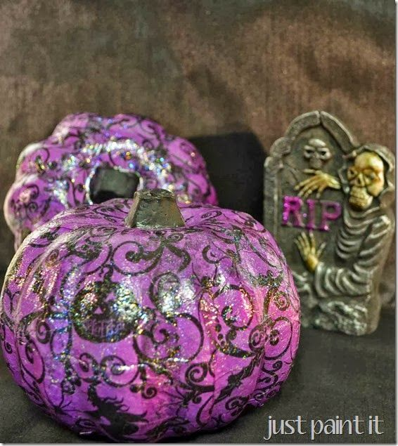 It's amazing how many ways there are to decorate pumpkins, don't you think?…