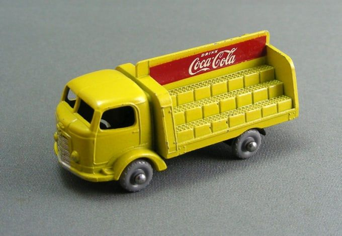1960 Coca-Cola Lorry - Gallery: The 50 Coolest Matchbox Cars | Complex