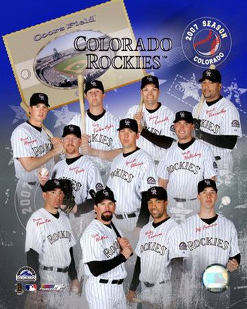 2007 Rockies! Good season!