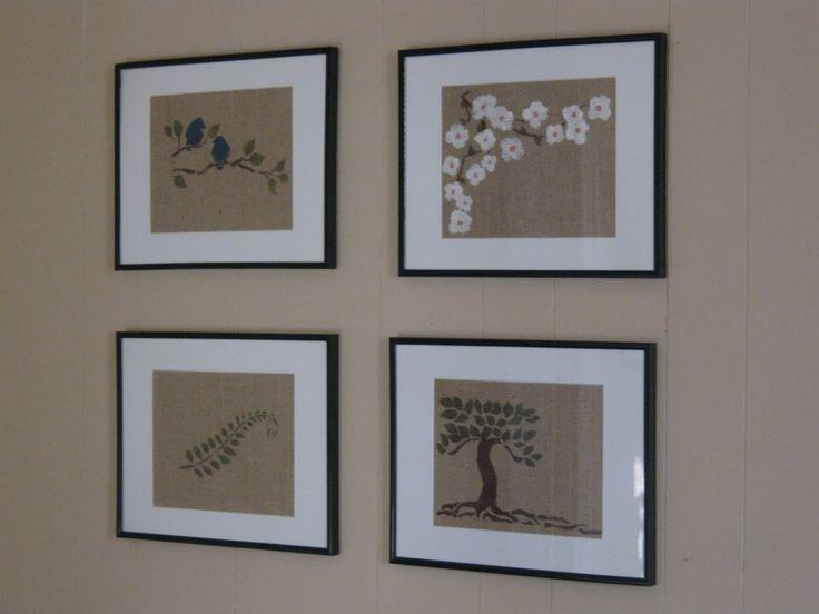 Burlap Wall Decor 196 best decorating with burlap images on pinterest   burlap