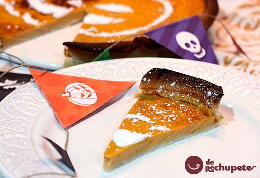 Tarta de calabaza o Pumpkin Pie.