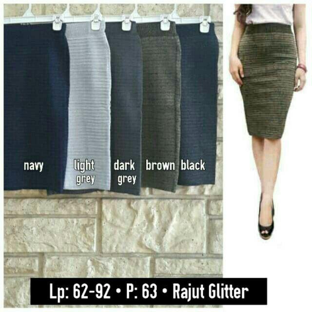 Temukan dan dapatkan Knitted glitter skirt 125078 hanya Rp 90.000 di Shopee sekarang juga! http://shopee.co.id/ria_nita/8411321 #ShopeeID