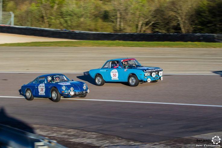 #Alpine #A110 et #Lancia #Fulvia sur le #TourAuto2016 à #Dijon_Prenois. Reportage : http://newsdanciennes.com/2016/04/20/tour-auto-2016de-passage-a-dijon-prenois-on-y-etait/ #ClassicCar #VoituresAnciennes #VintageCar #MoteuràSouvenirs