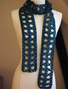 Papillon scarf