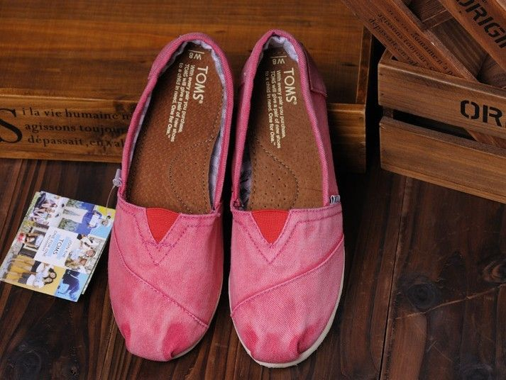 Toms Shoes Womens Red Stone-Washed Twill : Toms Shoes Outlet, TOMS outlet store online,big promotion,100% quality guarantee,TOMS Outlet sale with 70% discount!