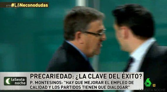 El economista Juan Torres abandona LaSexta Noche tras las acusaciones de pertenecer a Podemos