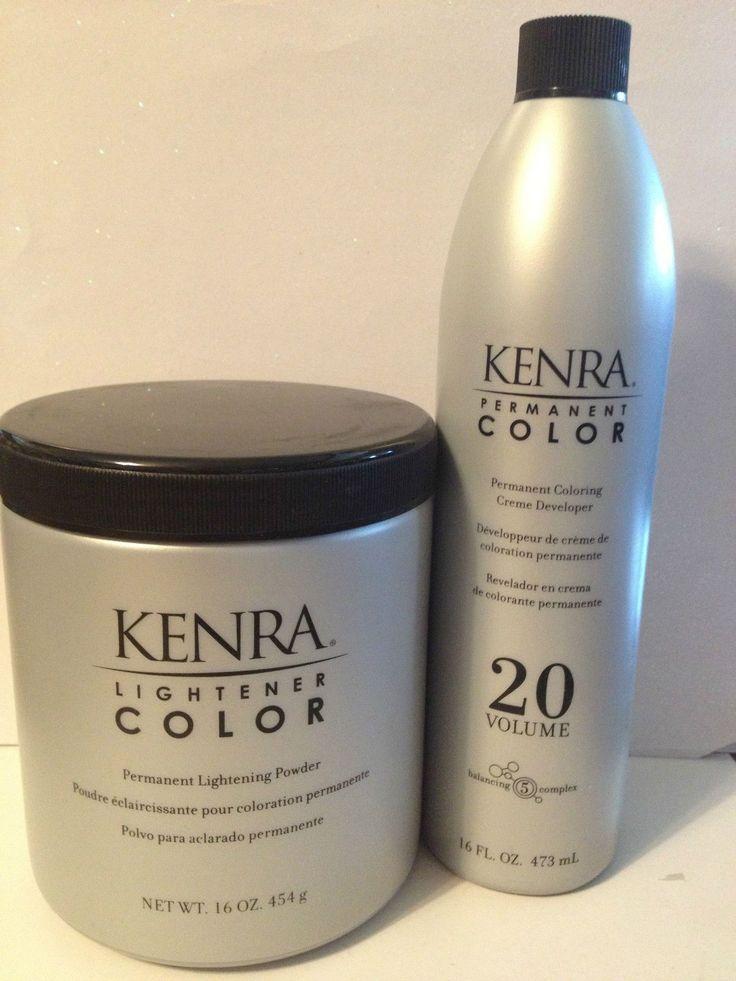 Kenra Hair Lightener Color Permanent Lightening Powder