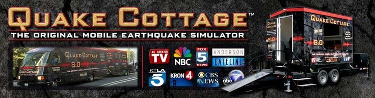 Quake Cottage Mobile Earthquake Simulator