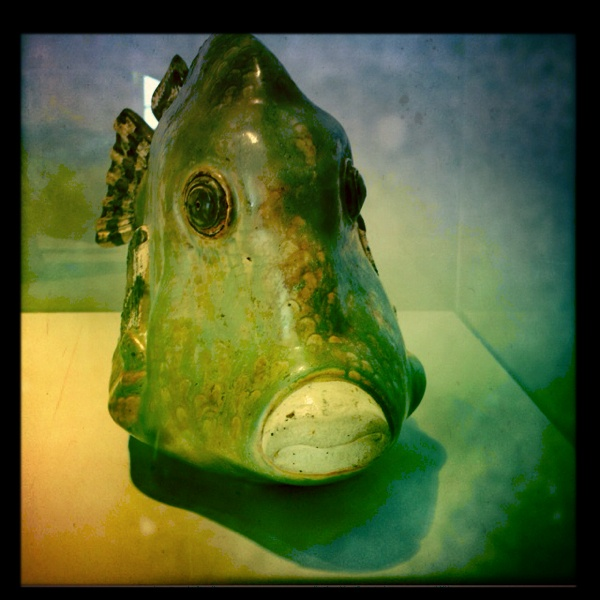 Kiss a fish made by Tyra Lundgren #Visby