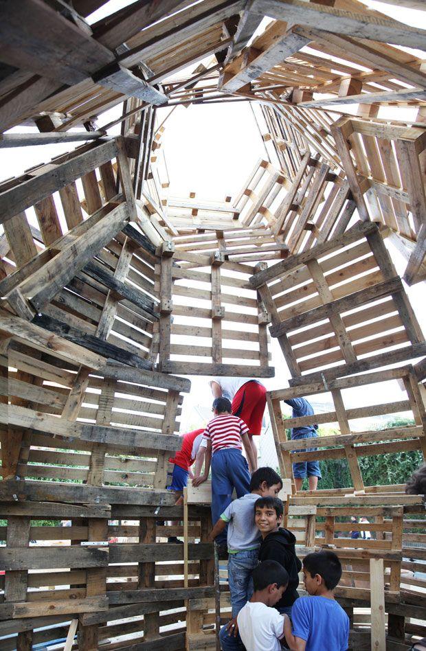 Temporary Public Space. #ArquitecturasColectivas