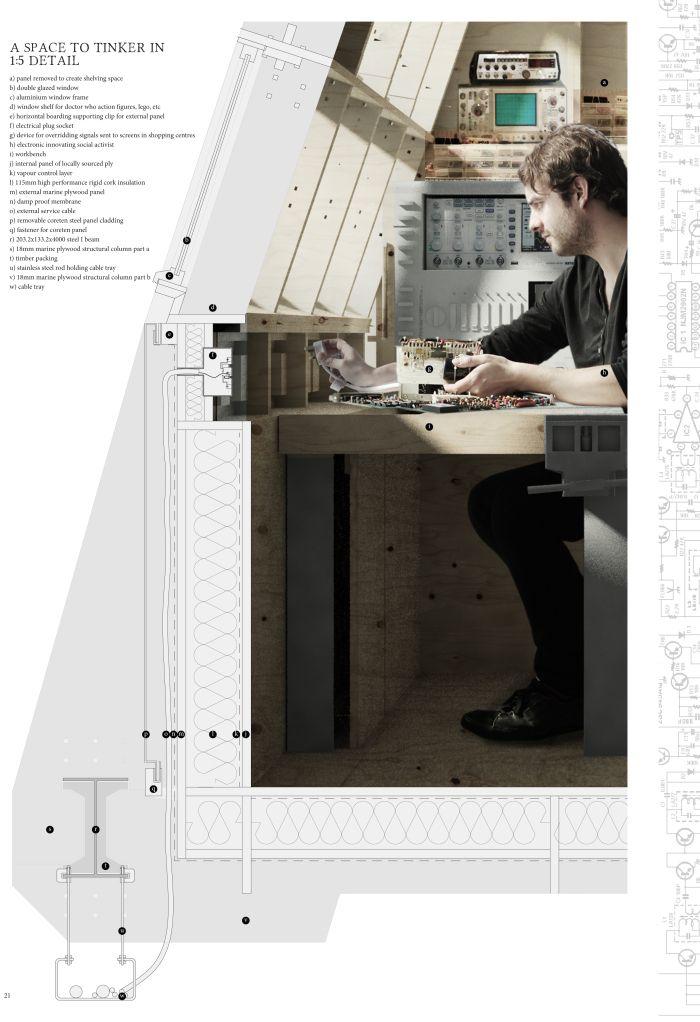Architecture, Music, Design... anything I want to remind myself of in future. #arquitectura #dibujos #secciones constructivas #detalles #secciones