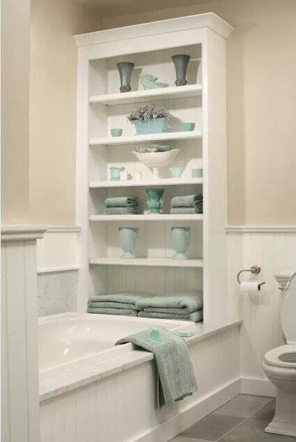 Another twist on combining color with storage, #GreadIdea!