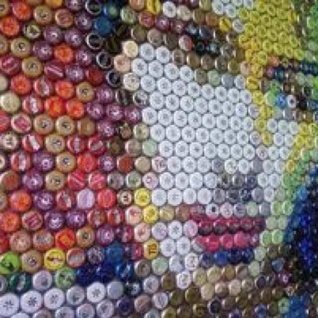 bottle cap art bottle cap ideas for ariel pinterest