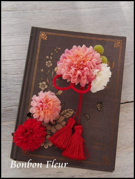 和装用髪飾り : Bonbon Fleur ~ Jours heureux コサージュ&和装髪飾り