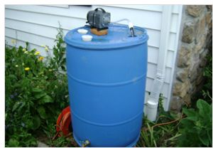 I had a free 55 gallon barrel that I decided to turn into a compost tea brewer. Compost tea is a great way to magnify your compost by breeding the beneficial microorganisms and spraying them on your p