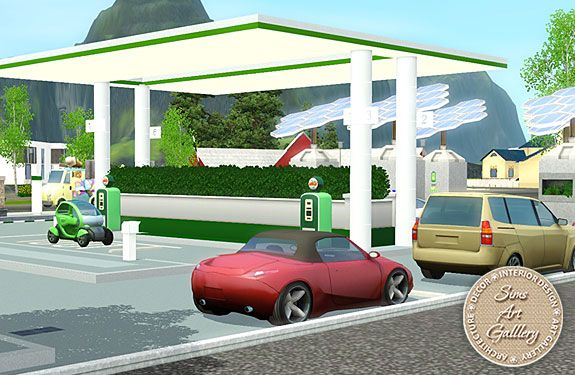 Eco-friendly fuel station