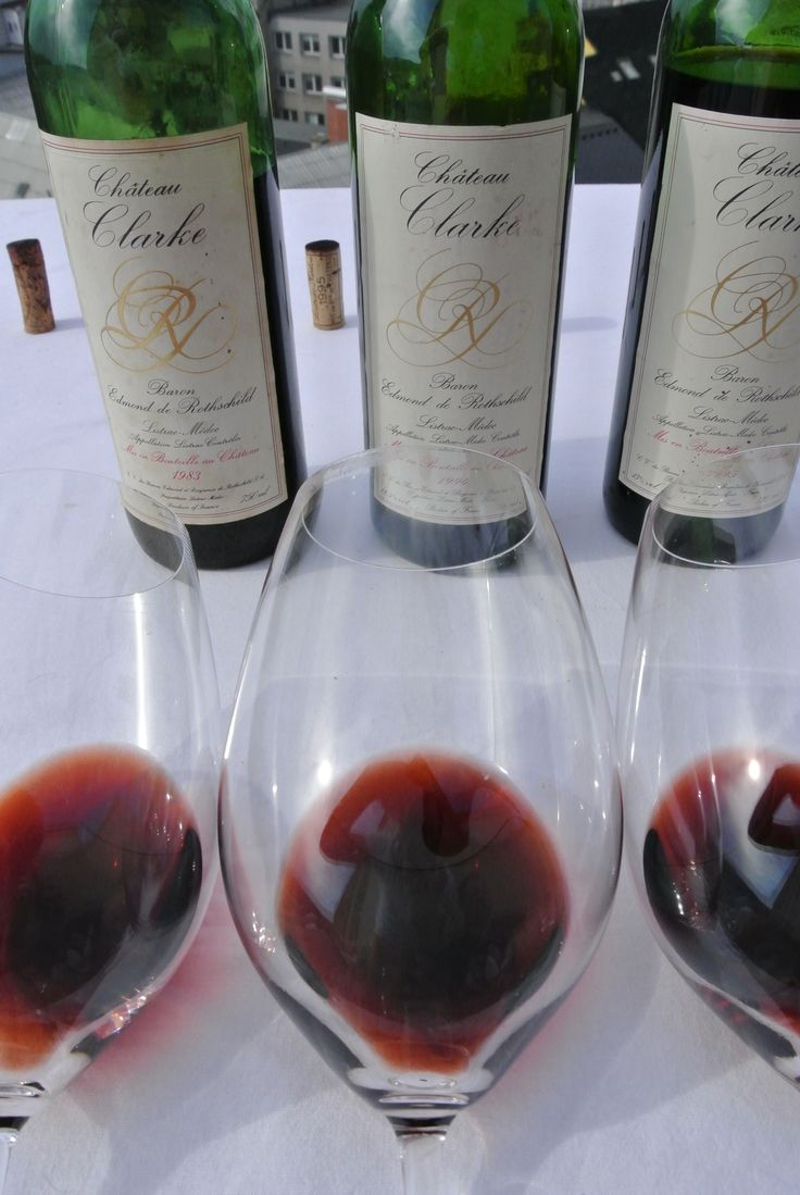 Chateau Clarke vertical tasting Bordeaux wines brought to you by winespoint.com
