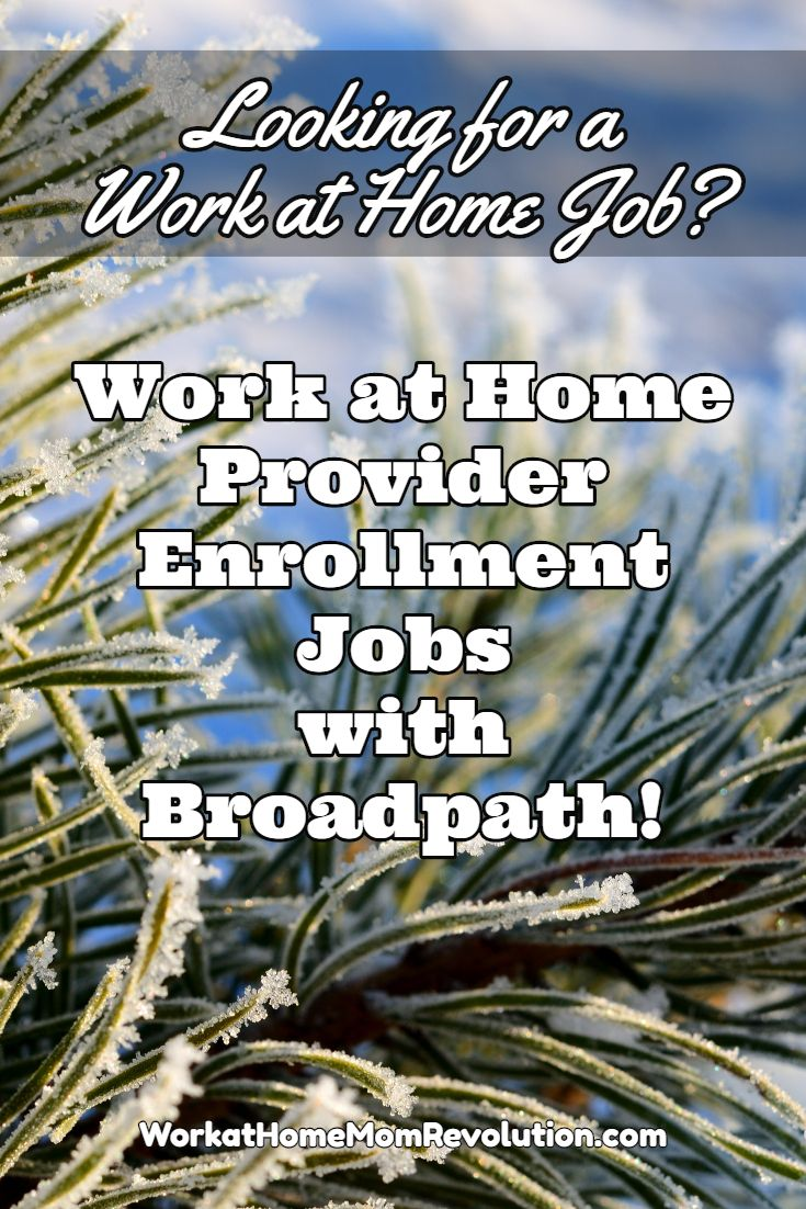 Broadpath is hiring work at home provider enrollment/credentialing analysts in the U.S. You will be trained at home for these work from home positions. Awesome home-based job opportunity in the U.S. You can earn a living from home!