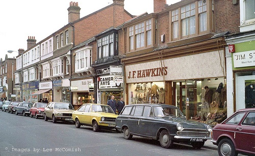 J.F Hawkins & Camera Arts, High Street, Camberley, Surrey : 1979