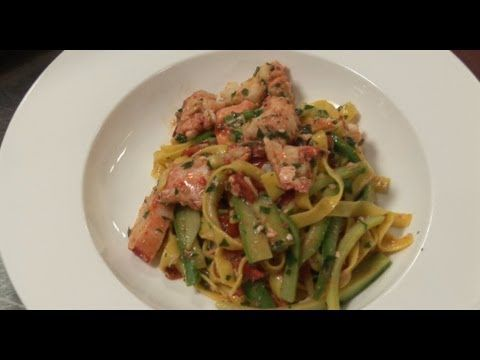 How to make lobster tagliatelle | by Theo Randall