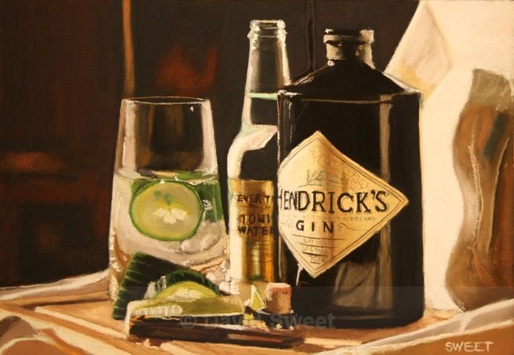 Hendrick's with Fever Tree - Paintings