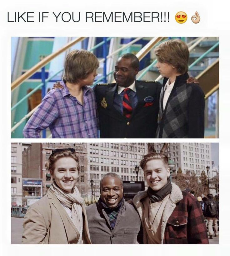 The suite life of Zack and Cody. Glad to see this updated picture.
