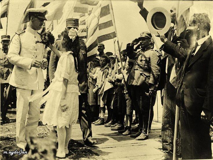 Yunan Kralı Alexander Bandırma da, 1920