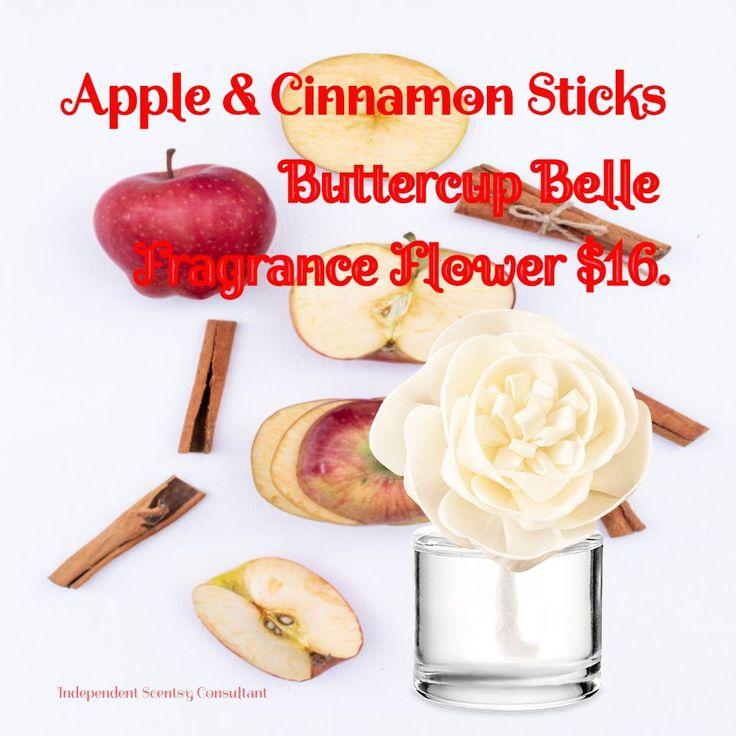 Apple cinnamon sticks scentsy fragrance flower 16