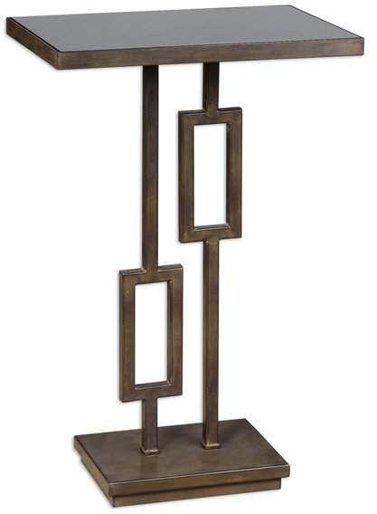 Uttermost Rubati Accent Table Geometric Side Table Accent