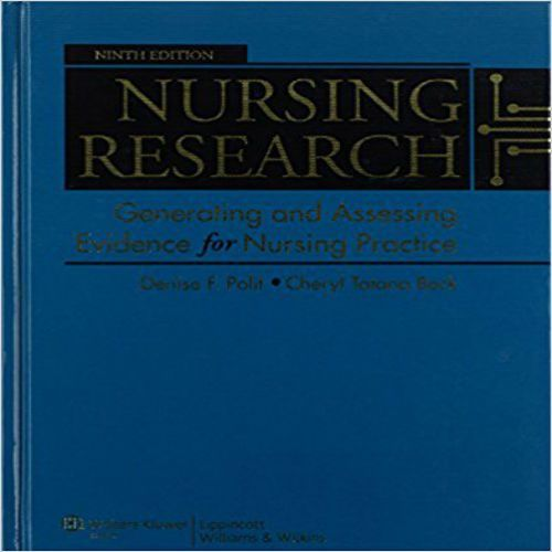 Test Bank For Nursing Research Generating And Assessing
