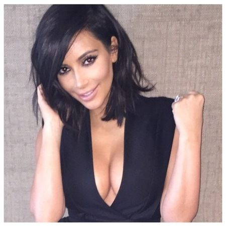 kim kardashian long bob haircut - Google Search