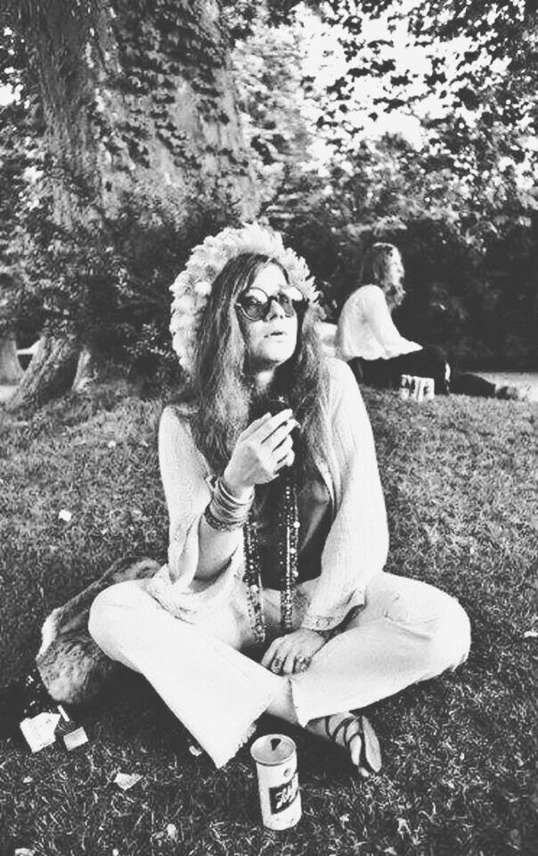 Janis Joplin. Although she died of overdose I still believe she was an amazing musician and wanted nothing more than happiness for her and everyone around her.