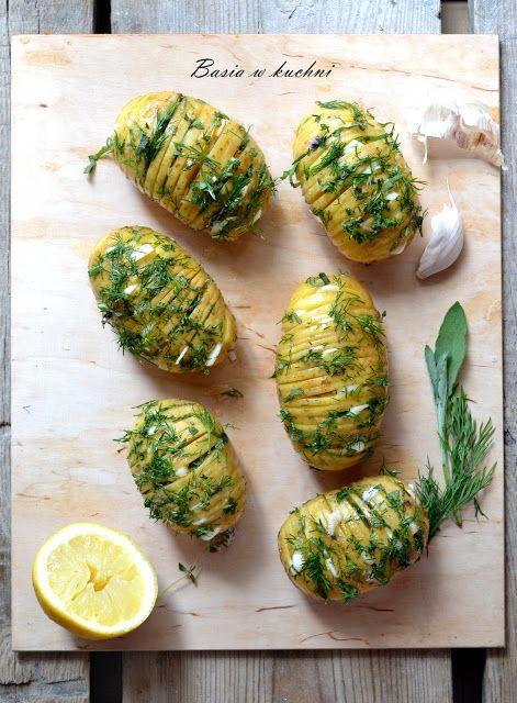 Basia w kuchni: Faszerowane ziemniaki na grilla.