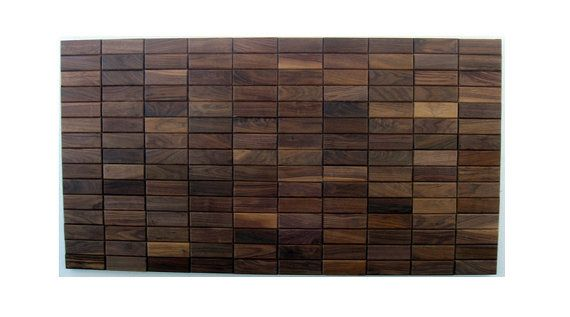 Solid Walnut Headboard, Wood Headboard, Queen, Furniture, Bedroom, Home & Living, Wood Wall Art on Etsy, $750.00