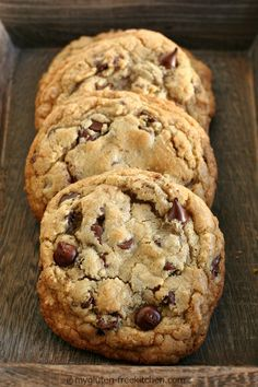 The Best Chewy Gluten-free Chocolate Chip Cookies. 5 years of testing and tweaking recipes led to this!