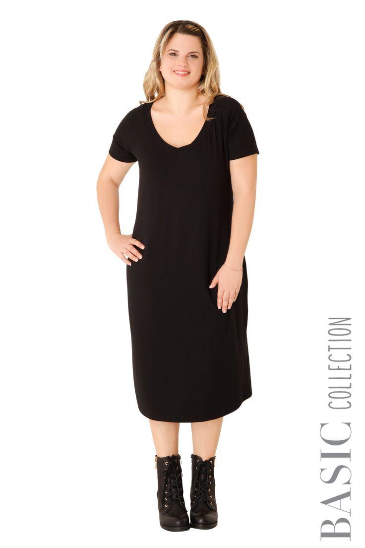 Midi βισκόζ φόρεμα - Ρούχα | XLcloset